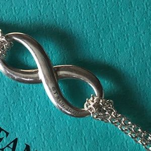 Tiffany & Co. Jewelry - Enamel Infinity Necklace by Tiffany & Co.